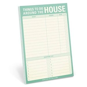 NWT Things to do around the house notepad
